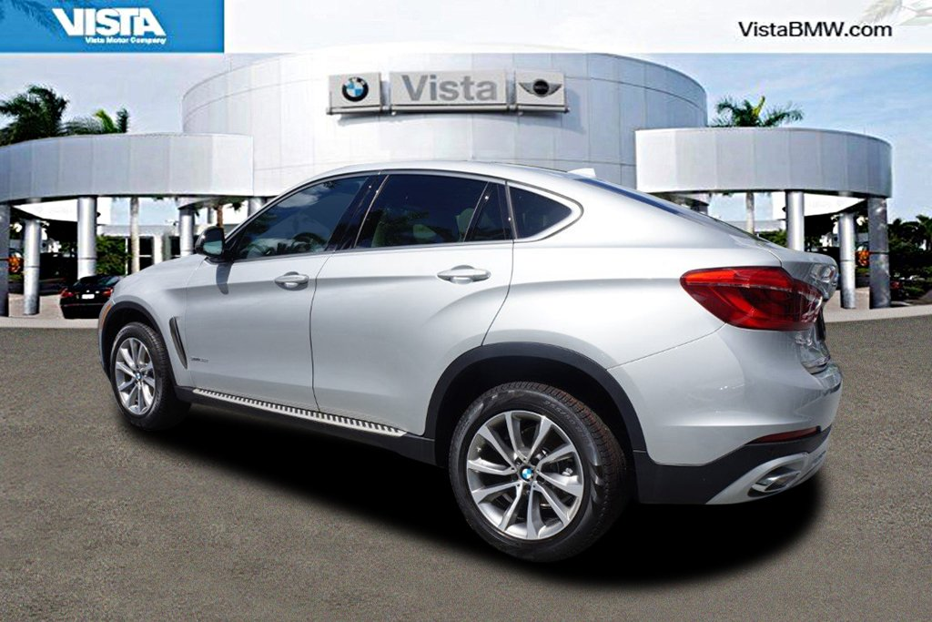 New 2018 BMW X6 sDrive35i